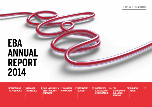 EBA Annual report front page